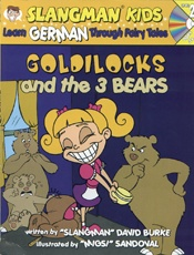 German 2 Goldilocks and the Three Bears Book and CD